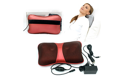 Gối massage hồng ngoại magic energy pillow puli pl 818