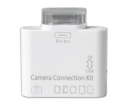 Camera Connection Kit 5 in 1 cho Ipad
